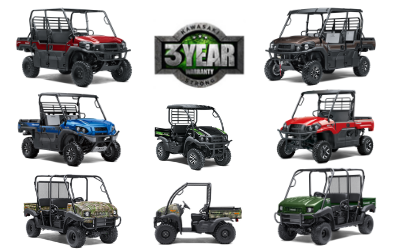 2019 Mule Kawasaki Wheels and Deals