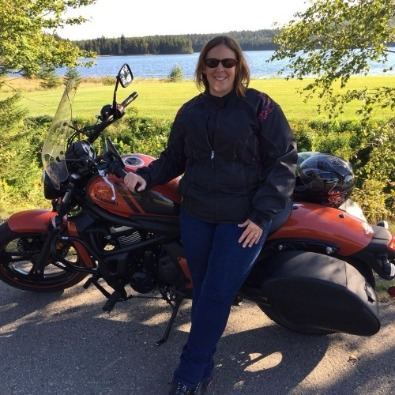 Jim Gilbert's Wheels and Deals Kawasaki Vulcan s  Janet Crammond